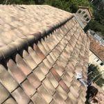 Tuiles posées - Rénovation d'une toiture à Cannes