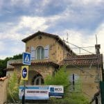 Pose d'échafaudages - Rénovation d'une toiture à Cannes