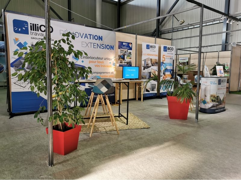 Salon de l'Habitat à Brive avec illiCO travaux
