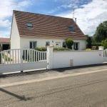 Vue de la maison du Perray en Yvelines depuis la rue