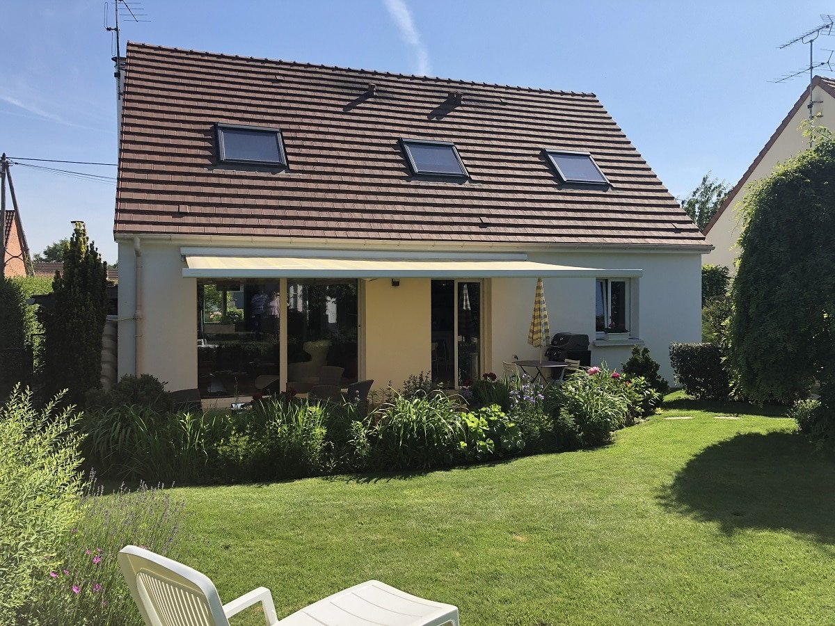 Création d'une baie vitrée et divers travaux de ravalement au Perray-en-Yvelines (78)