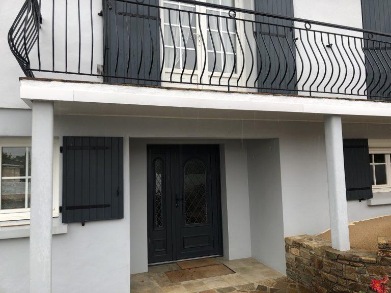 Rénovation d'un balcon à La Roche-sur-Yon (85)