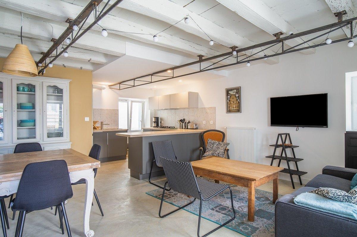 Rénovation d'une maison à Rezé (44)