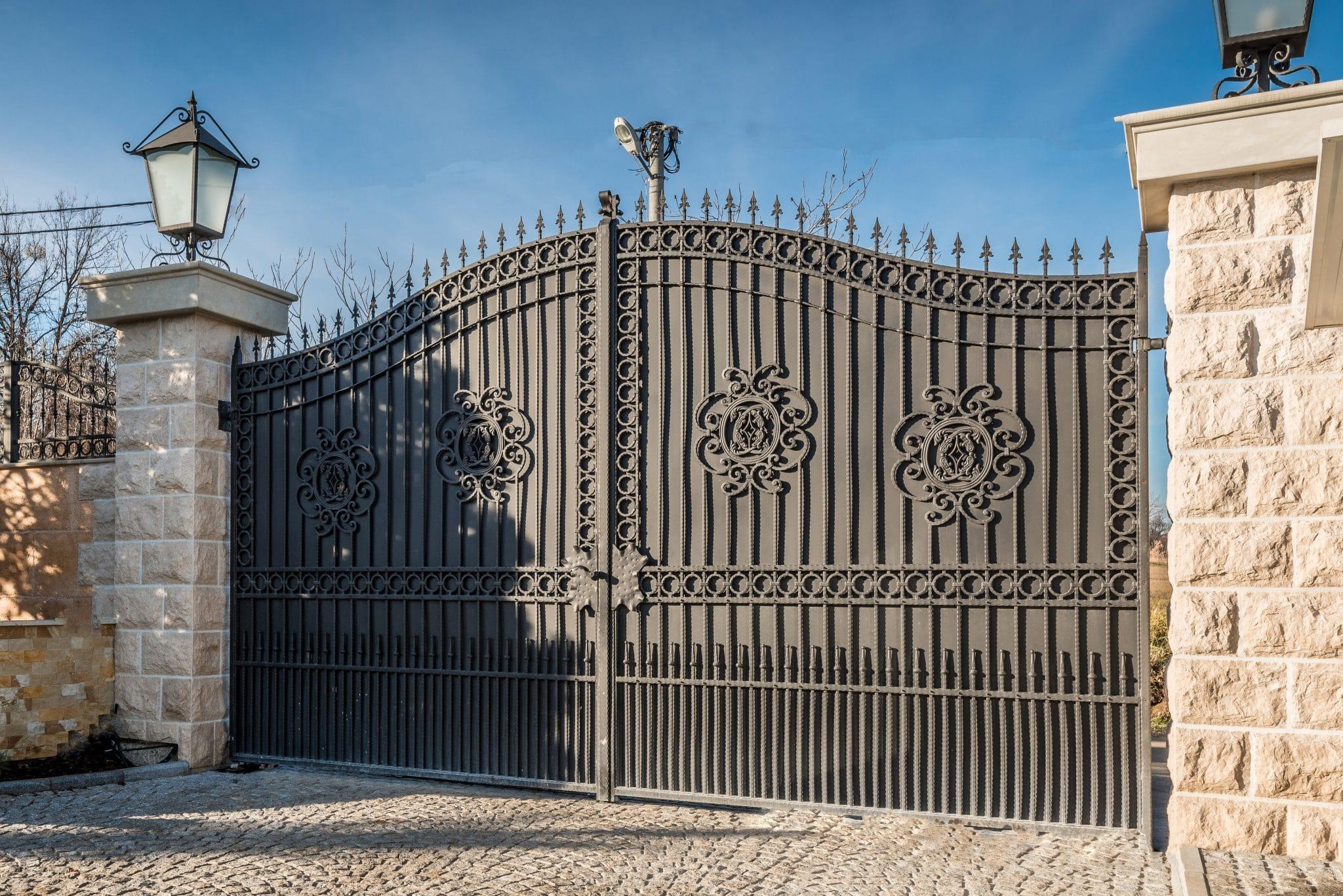 Le portail battant