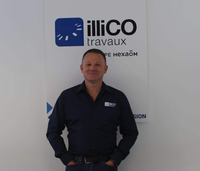Alban Tollemer responsable de l'agence illiCO travaux Pacé - Rennes-Ouest