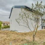 Vue de l'agrandissement depuis l'arrière de la maison - extension maison à Paulhac