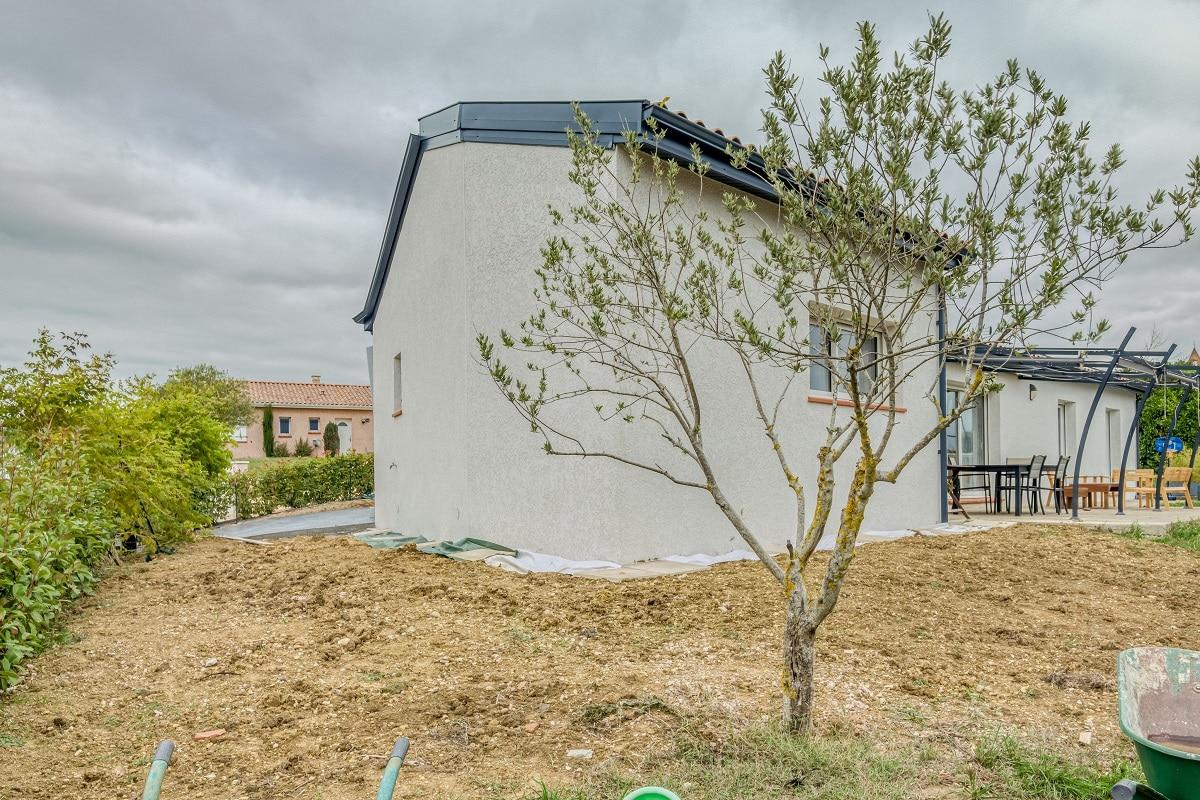 Création d'une extension maison à Paulhac (31)