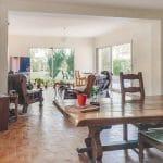 Salon avec sa surface doublée - Extension de maison à Plaisance sur Touch