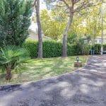 jardin avec allée rénovée - extension maison Plaisance du Touch