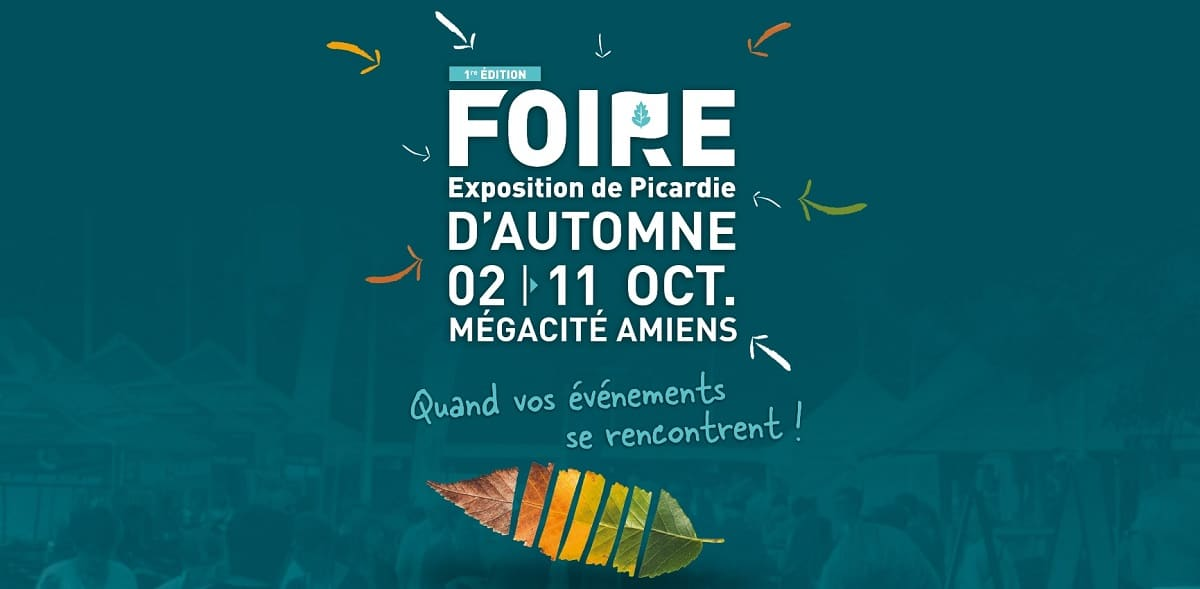 illiCO travaux à la Foire d'automne d'Amiens !