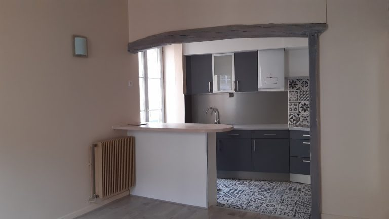 Rénovation complète d'un appartement à Mâcon (71)