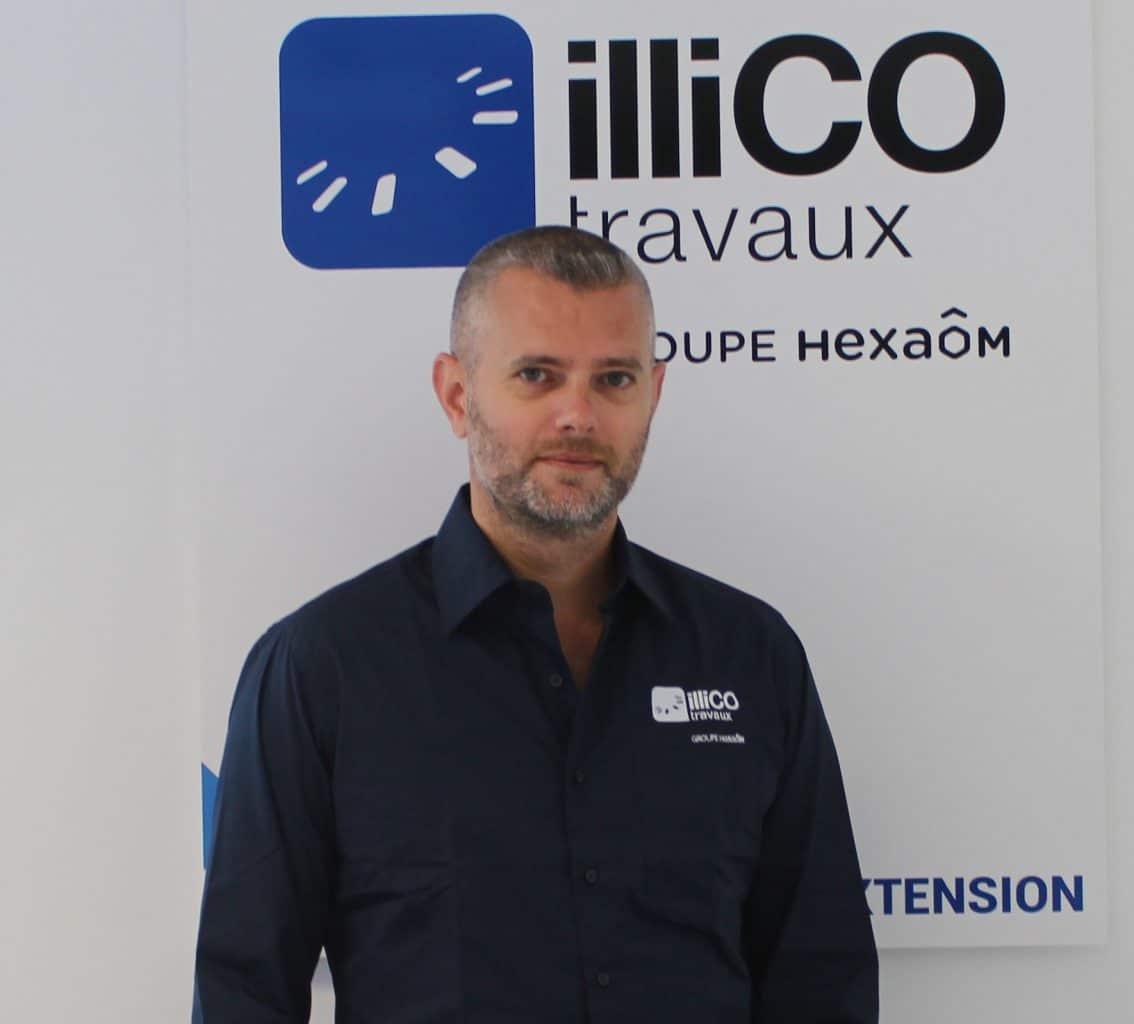 Marc Van Pe responsable illiCO travaux Tigery - Draveil - Brunoy