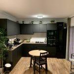 cuisine rénovée - rénovation d'un appartement à Monaco