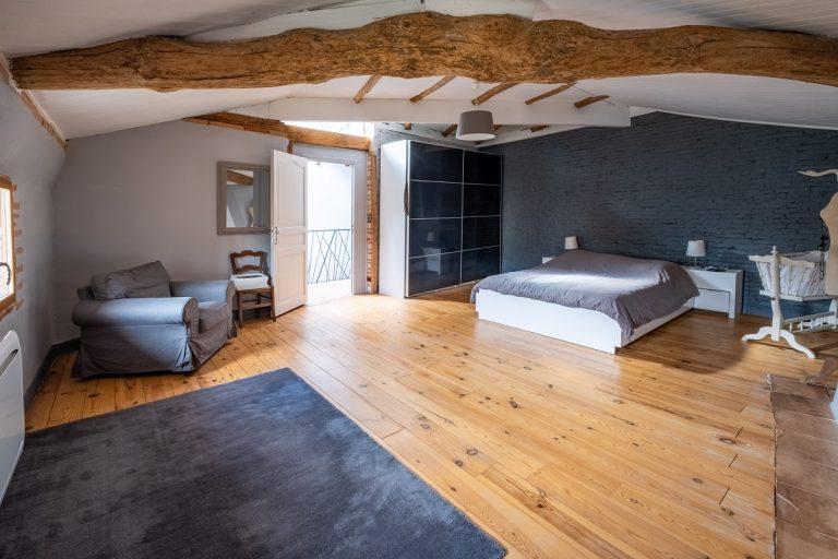 Rénovation complète d'une maison à Pechbonnieu (31)