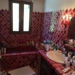 Ancienne salle de bain - rénovation d'une maison à Antibes