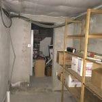 Buanderie avant travaux - rénovation d'une maison à Antibes