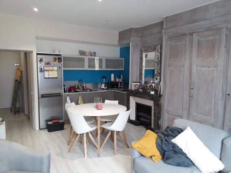 Rénovation d'un appartement à Cluny (71)