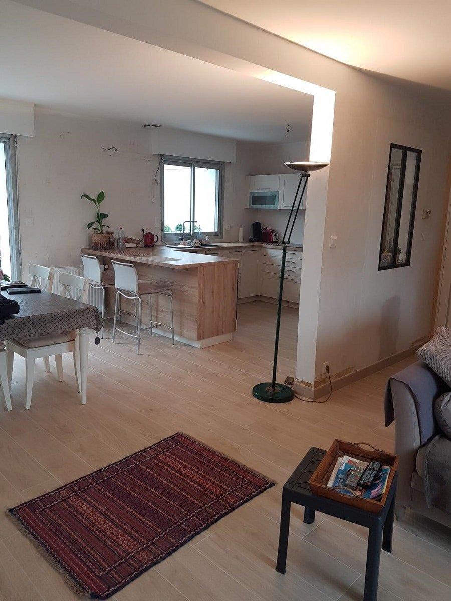 Rénovation d'une maison à Lorient (56)