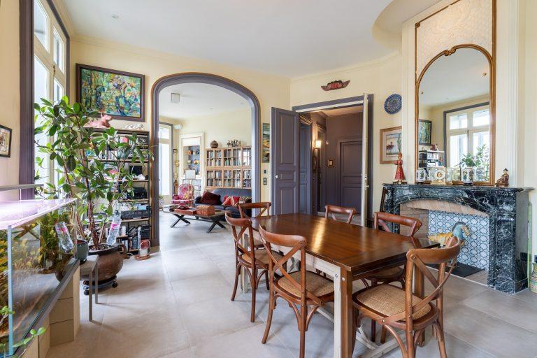Création de deux appartements à partir d'un appartement de 200 m2 à Sète (34)