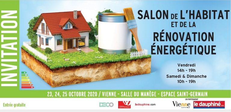 Salon de l'habitat et de la rénovation énergétique à Vienne