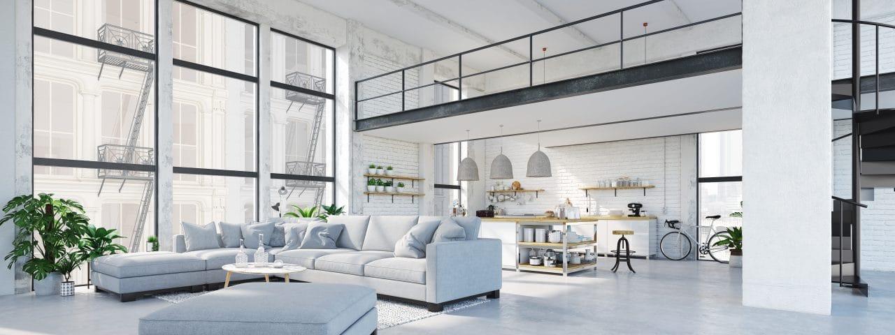 projet de rénovation d'un loft