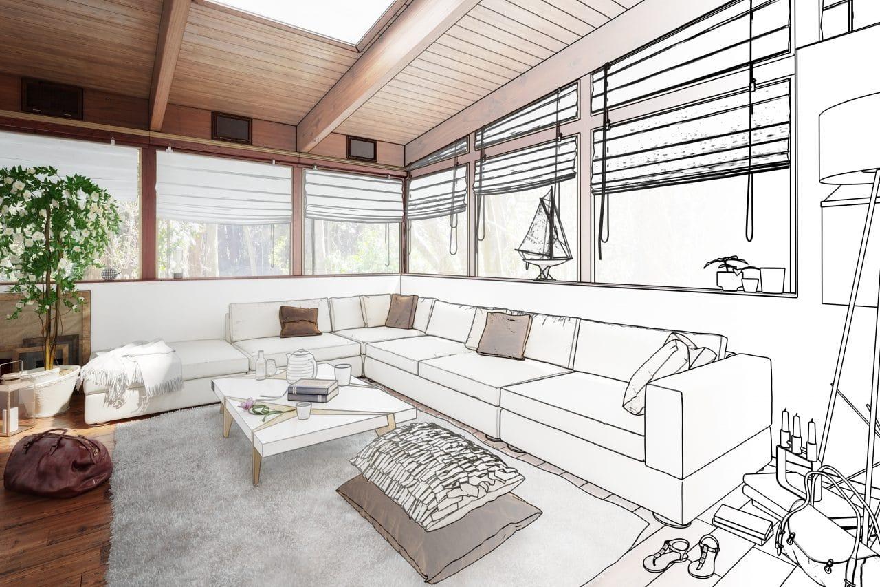 extension maison paimpol : extension veranda - sejour