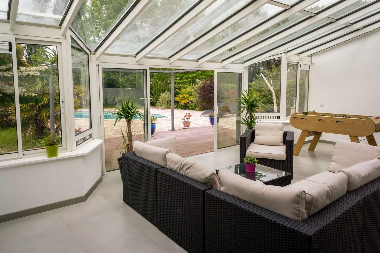 extension maison perpignan : aménagement véranda - sejour veranda