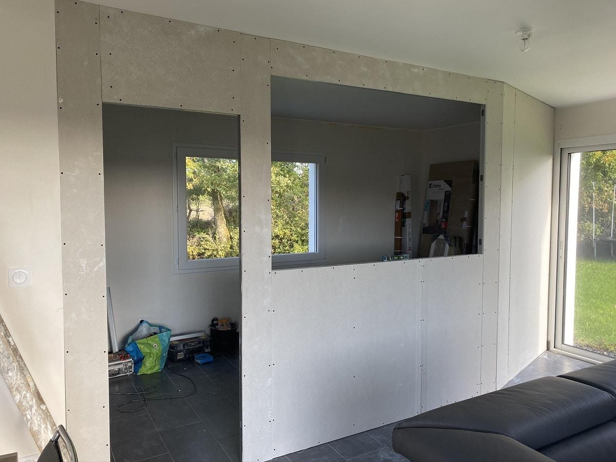 Création d'un bureau à La Roche-sur-Yon (85)