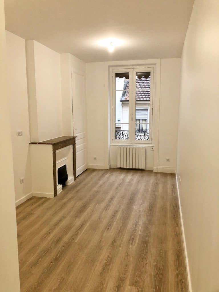 Rénovation d'un appartement en vue d'une mise en location à Lyon (69)
