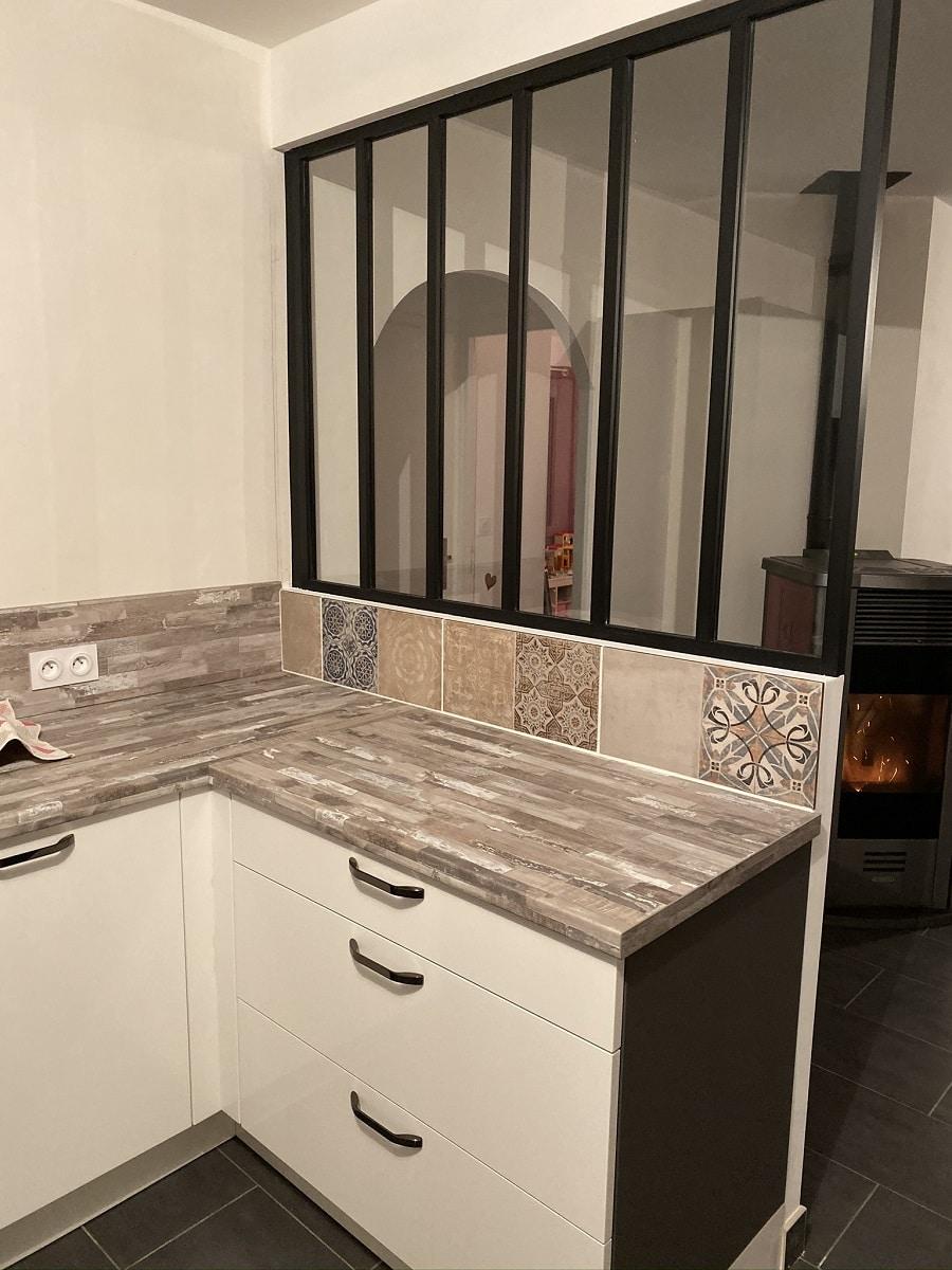 Rénovation d'une cuisine d'une maison à La Roche sur Yon (85)