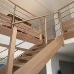 Nouvel escalier - rénovation sous-sol et rez-de-chaussée Saint Nolff