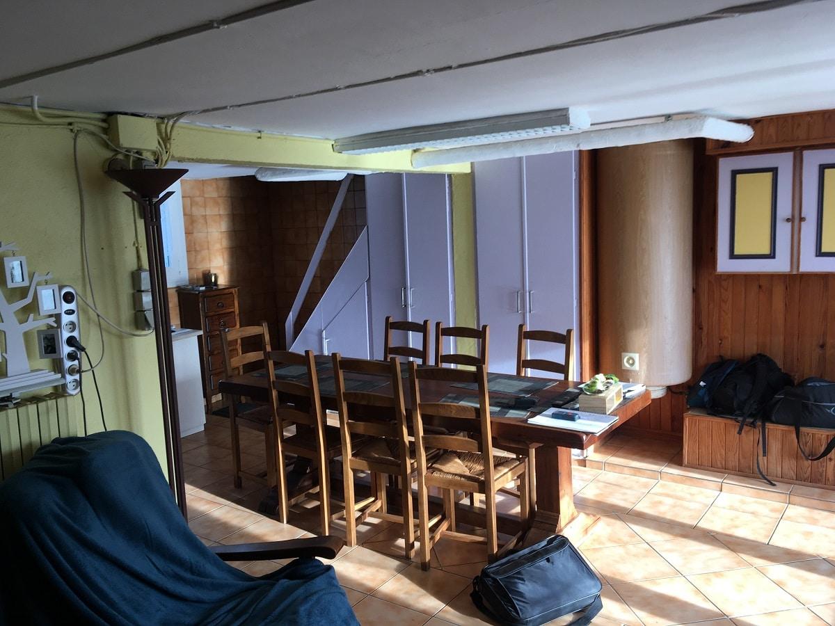 Rénovation d'un sous-sol et du rez-de-chaussée d'une maison à Saint Nolff (56)