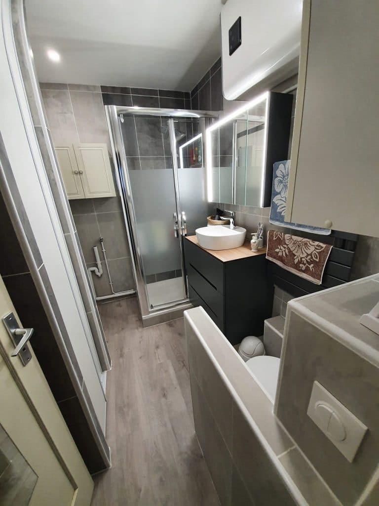 Rénovation d'une salle de bain d'un appartement à Angoulême (16)