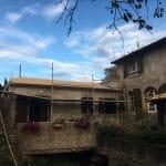 Toiture avec tuile canal - rénovation d'une toiture - Conques