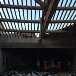 Toiture avant travaux - rénovation d'une toiture - Conques