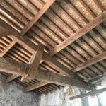 Nouvelle charpente - rénovation d'une toiture - Conques