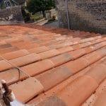 Tuiles du patrimoine - rénovation toiture Saint-Même-les-Carrières