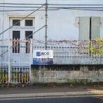 Zoom sur l'achafudage - rénovation toiture Saint-Même-les-Carrières