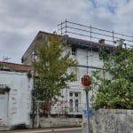 Echaufaudage - rénovation toiture Saint-Même-les-Carrières