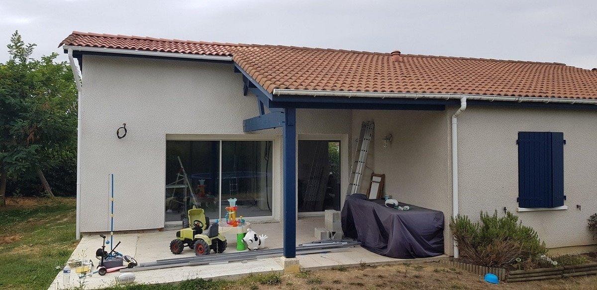 Extension d'une maison à Mondonville (31)