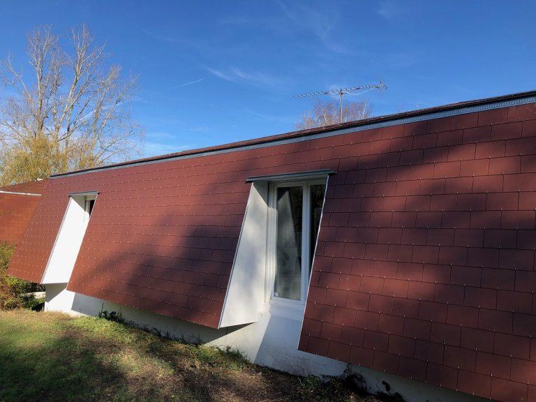 Isolation d'une maison atypique à Vienne en Val (45)