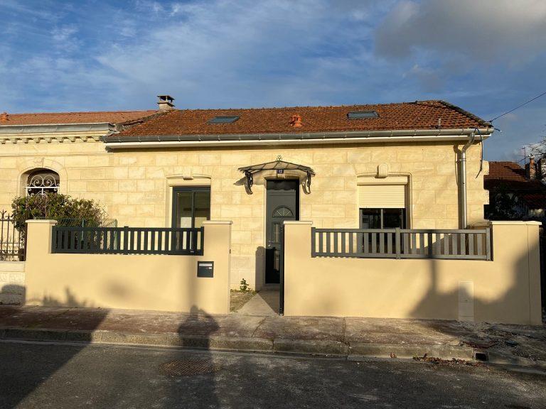 Rénovation et extension d'une échoppe à Bègles (33)