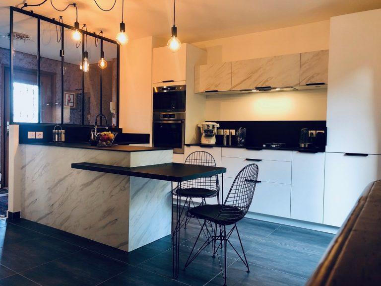 Rénovation d'une cuisine et travaux de réfection à Lyon (69)