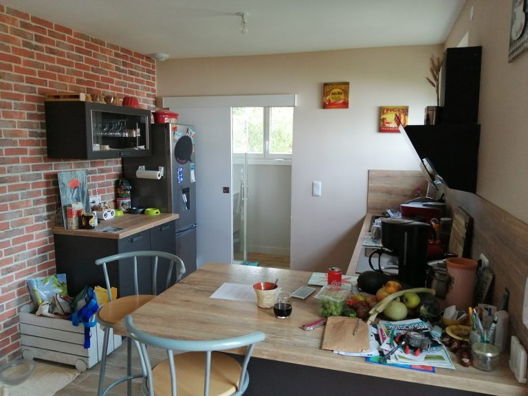 Rénovation d'une maison avec transformation du garage à Tremblay-les-Villages (28)