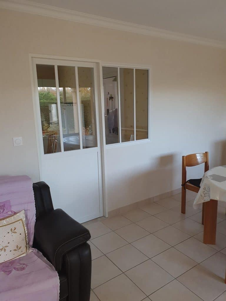Rénovation partielle d'une maison à Puymoyen (16)