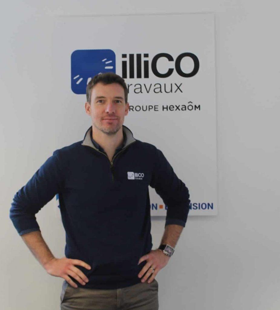Jean-Charles Aublet responsable de l'agence locale illiCO travaux Arpajon - Brétigny sur Orge
