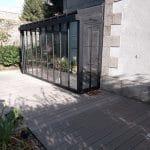 Création d'un jardin d'hiver à Fougères