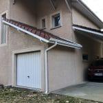 Extension terminée - Construction d'une extension garage à Grésivaudan en Isère