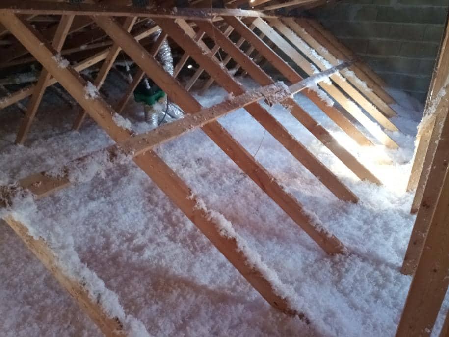 Isolation de la toiture - rénovation maison à Puymoyen