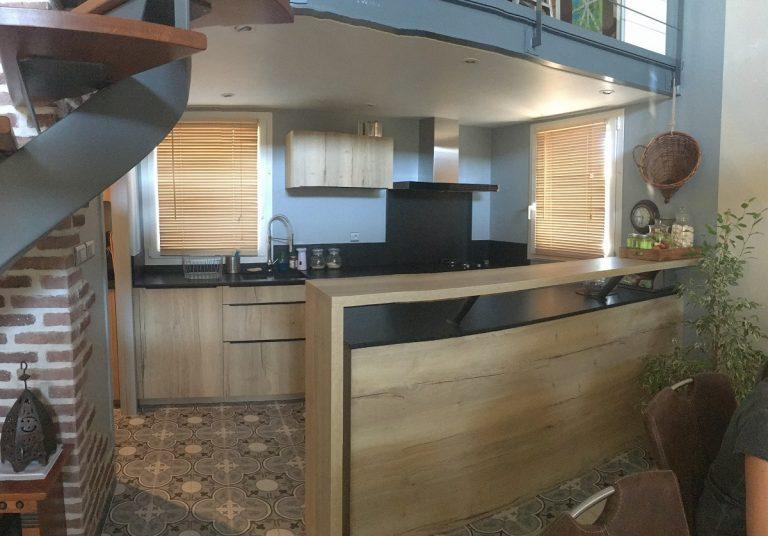 Rénovation complète d'une cuisine près de Nîmes (30)